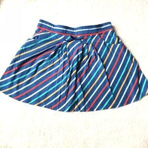 Crazy 8 striped skirt girls 7/8
